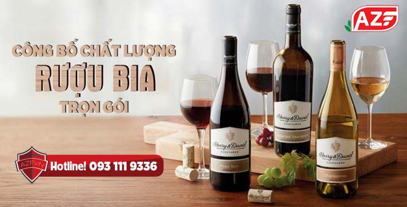 Tự công bố chất lượng Rượu Bia - Hotline: 093 111 0363