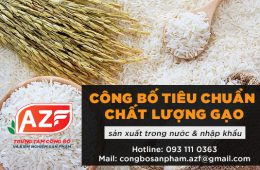 cong bo tieu chuan chat luong gao